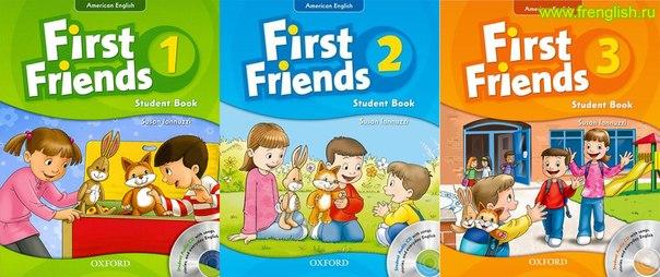 کتاب راهنمای معلم مخصوص first  friends 1-2-3